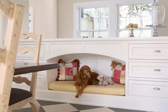 kitchen nook for pets